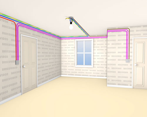 branchement va et vient. Black Bedroom Furniture Sets. Home Design Ideas